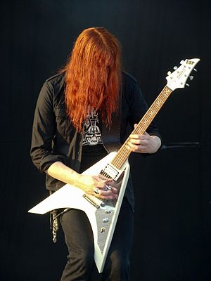 Carcass (band) - Michael Amott at Gods of Metal, Bologna, Italy (2008)