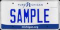 Michigan sample license plate, 2013.png