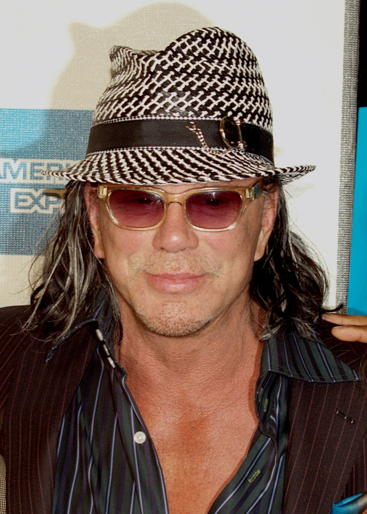 Mickey Rourke naked