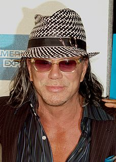 Mickey Rourke American actor