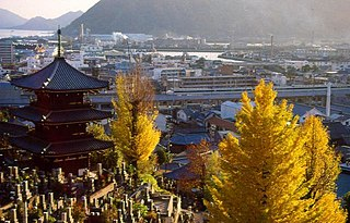 Mihara, Hiroshima City in Chūgoku, Japan