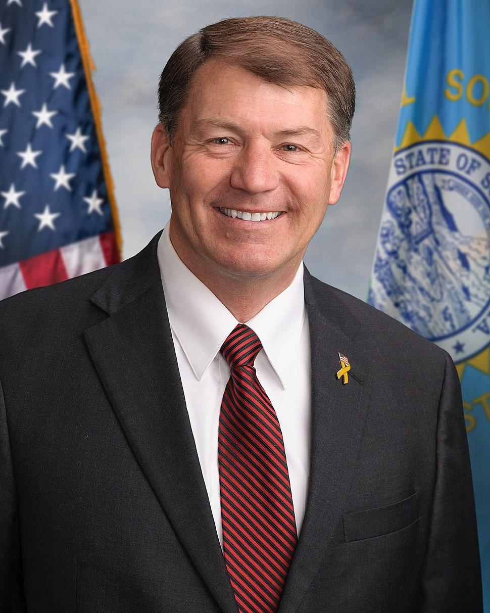 Mike Rounds official Senate portrait