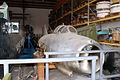 Mikoyan-Gurevich MiG-15 Fagot RFront storage SNFSI FOF 15April2010 (14629875602).jpg