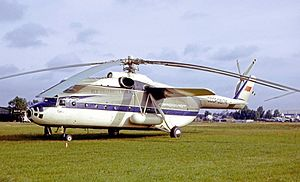 Mil Mi-6 - A Mil Mi-6 of Aeroflot at the 1965 Paris Air Show