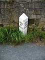 Milestone on the Leeds and Liverpool Canal - geograph.org.uk - 945124.jpg