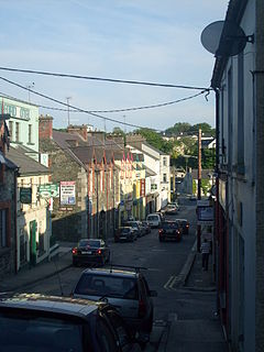 Milford, County Donegal Town in Ulster, Ireland