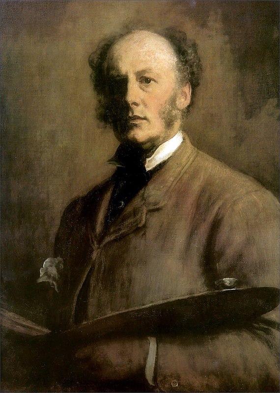 Millais - Self-Portrait