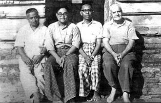 Min Thu Wun - Min Thu Wun (third from the left)