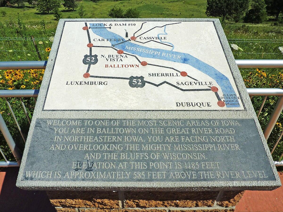 Balltown, Iowa   Wikipedia