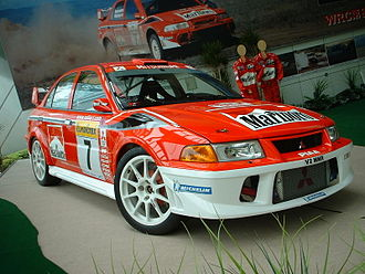 Group A - Mitsubishi Lancer Evolution VI, Tommi Mäkinen edition, a Group A rally car