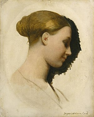 Hygin-Auguste Cavé - Image: Mme Edmond Cavé c 1831 34 by Ingres NY Met Museum of Art