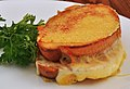 Mmm... inside out grilled cheese (6071900948).jpg