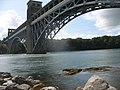 Modern reinforcing arches under Pont Britannia - geograph.org.uk - 1430108.jpg