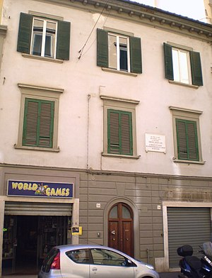 Amedeo Modigliani - Modigliani's birthplace in Livorno