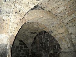 Mogilno - sklepienia podziemi Klasztoru Benedyktyńskiego