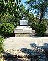 Mohandas Karamchand Gandhi Statue in Nicosia Republic of Cyprus.jpg
