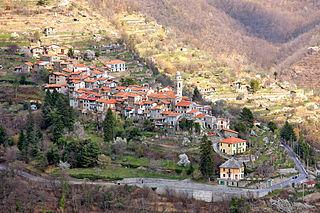 Molini di Triora Comune in Liguria, Italy