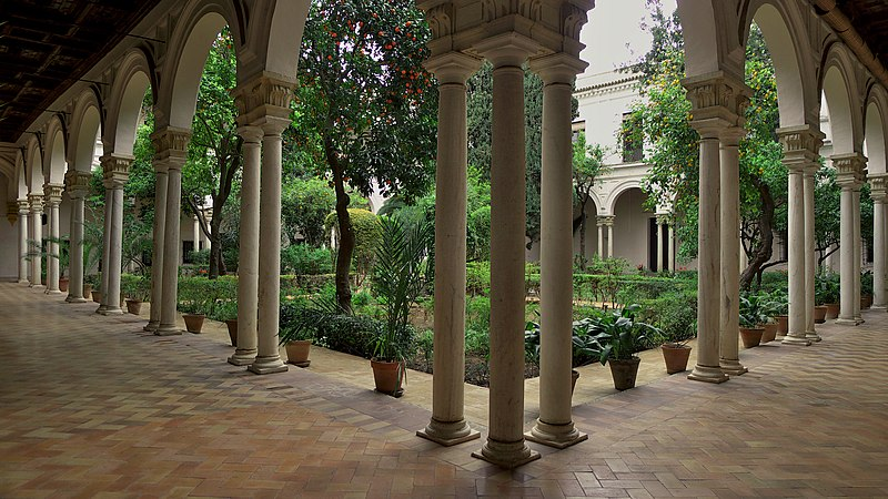 Archivo:Monasterio de San Clemente (Sevilla). Claustro.jpg