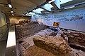 Monastiraki station. Underground level 1. The vaulted river bed of Eridanos.jpg