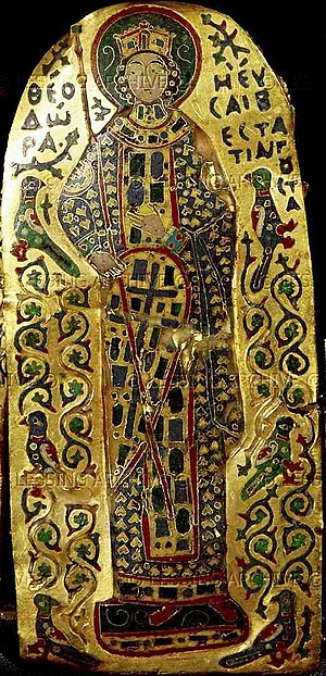 Theodora Porphyrogenita (11th century) - Depiction on Empress Theodora on the Monomachus Crown