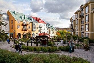 Mont Tremblant Resort - Pedestrian village