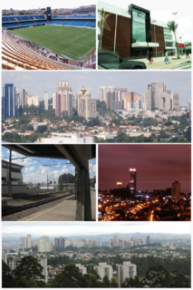 Barueri Municipality in Southeast, Brazil