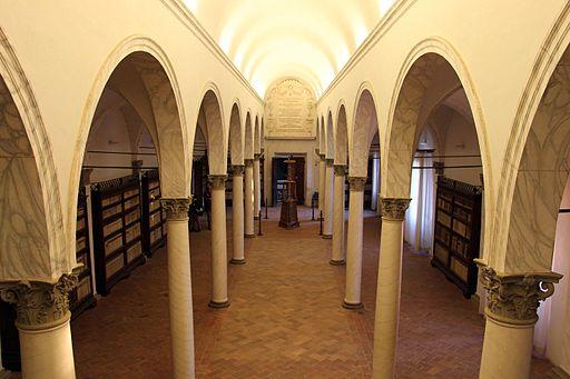Monte Oliveto Maggiore, biblioteca di fra' Girolamo da Veron