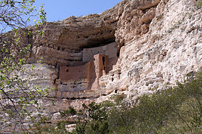 Montezuma´s castle in Arizona