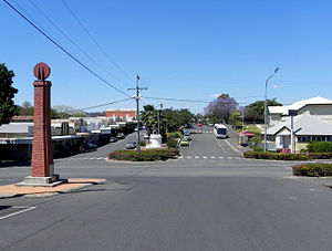 Mount Morgan, Queensland - Mount Morgan's Central Business District