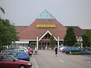 Morrisons - Morrisons supermarket in Milton Keynes (formerly a Safeway store)