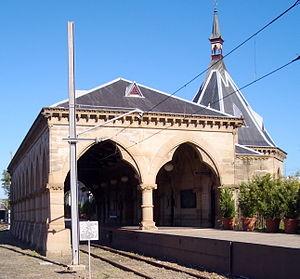 Regent Street railway station - Northbound view in July 2006