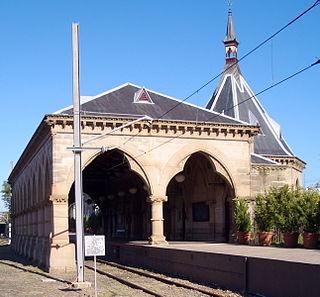 railway station in Sydney, New South Wales, Australia
