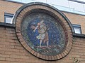 Mosaic roundel at Octavia House in Red Cross Garden, London.jpg