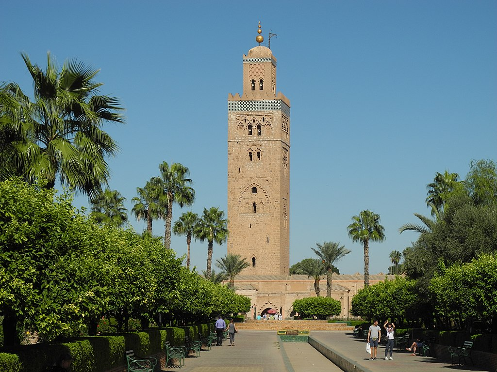 Jardin de la Koutoubia à Marrakech - Photo de Baca12