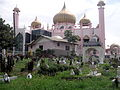 Mosque perched on a cemetery.jpg
