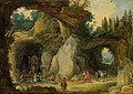 Mountain Landscape with Pilgrims in a Grotto Chapel by Jan Brueghel the Elder.jpg