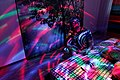 Moving lights, disco style, Argenberg, Rostov-on-Don, Russia.jpg