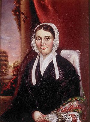 William Lyon Mackenzie - Mackenzie's wife, Isabel.