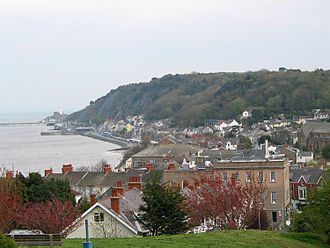 Catherine Zeta-Jones - The district of Mumbles, where Zeta-Jones was raised