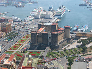 castle in Naples