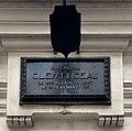 Musée Clemenceau en janvier 2020 - plaque ici vécu.jpg