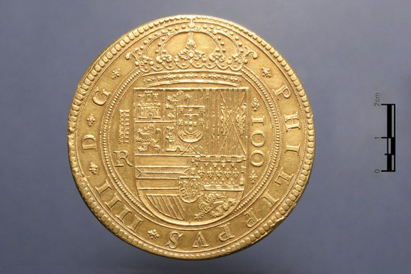 Museo Arqueológico Nacional - 108085 - Centén segoviano de 1633 01