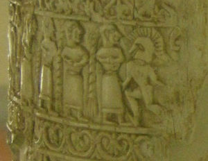Situla of the Pania - Detail of the second band
