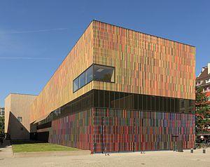 Sauerbruch Hutton - Museum Brandhorst Munich, 2008