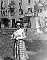 Női portré, 1955. Fortepan 7526.jpg