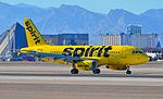 """N534NK Spirit Airlines 2008 Airbus A319-132 (cn 3395) """"Home of the BARE FARE"""" (15107445859).jpg"""