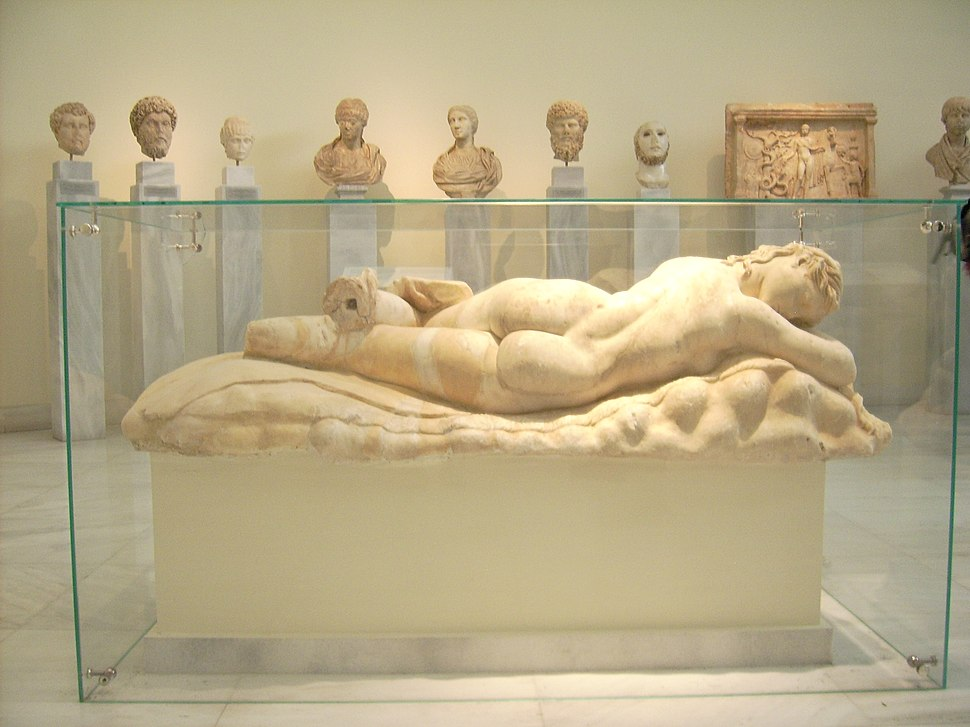 NAMA - Statue of a sleeping Maenad 03