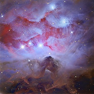 Sh2-279 Emission nebula in the constellation Orion