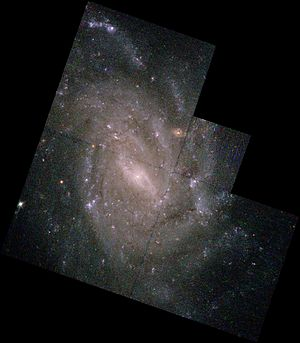 NGC 5334 - Spiral galaxy NGC 5334 by HST