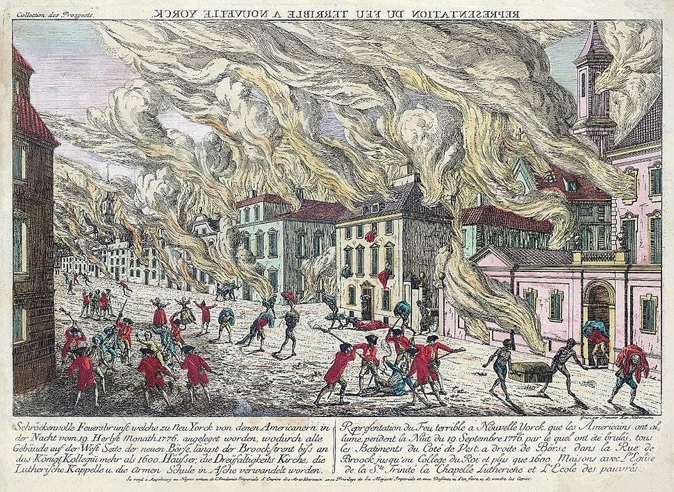 NYC fire 1776